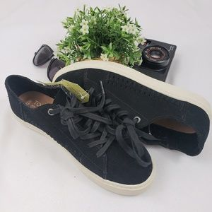 Toms   Lenox lace up sneakers - black